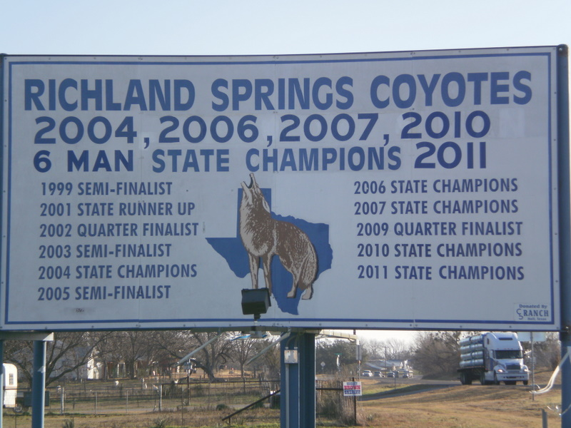richland springs men Six-man football, high school, texas 2017 scores scores from week 16, december 20.